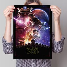 Doctor Who Poster 'Star Wars' by WillBrooks1989 on Etsy