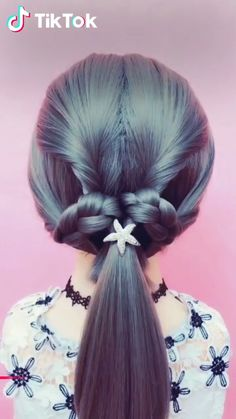 Super easy to try a new #hairstyle ! Download #TikTok today to find more hairstyle videos. Also you can post videos to show your unique hairstyles! Life's moving fast, so make every second count.