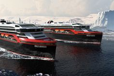 After adding two new ships to their fleet, Hurtigruten Expedition Cruises allows you to explore the Arctic Ocean without destroying it in the process. The MS Roald Amundsen and the MS Fridtjof Nansen … Roald Amundsen, New Jet, Hiking Essentials, Boat Building, Pacific Northwest, Norway, Amazing, Around The Worlds, Tours