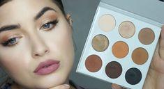 Kylie Eyeshadow Palette Review & Tutorial - Kyshadow Bronze Palette