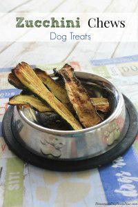 Zucchini Chews Dog Treats