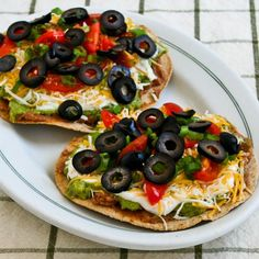 Kalyn's Kitchen®: Recipe for Seven-Layer Tostadas. Costco seeks guacamole that is pretty good if you don't have time to make your own. Winco sells pre fried tostadas if you want to save more time.