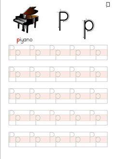 English Worksheets For Kindergarten, Preschool Writing, Alphabet Worksheets, Kindergarten Worksheets, Alphabet Writing Practice, Turkish Language, Abc For Kids, Teaching English, Kids And Parenting