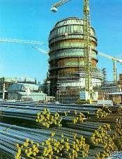 Krško, Slovenia - Containment Building in 1975