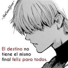 El destino #ShuOumaGcrow #Anime #Frases_anime #frases