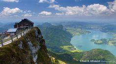 St. Wolfgang am Salzkummergut (Schafberg), Austria Touching Sky (by Dr. Hani)