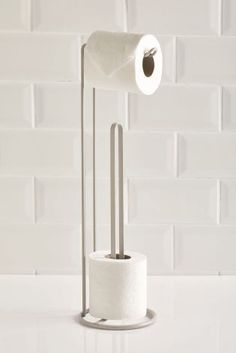 Buy Grey Toilet Roll Stand And Store from the Next UK online shop Toilet Paper Holder Stand, Paper Towel Holder, Bathroom Toilets, Small Bathroom, Best Toilet Paper, Grey Toilet, Mid Century Bathroom, Wrought Iron Decor, Toilet Room