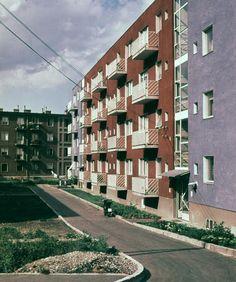 A hernyóktól a bérházakig – így épült meg a Selyemrét Hungary, Budapest, Multi Story Building, Technology, Tech, Tecnologia