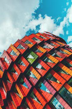 Futuristic Architecture by stellarshots on Creative Market