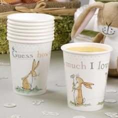 Guess How Much I Love you - perfect for her birthday party! @  Kiddicare.com