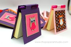Sticky Notes Holder - SO cute, though it's not that simple to do without the right materials and tools.