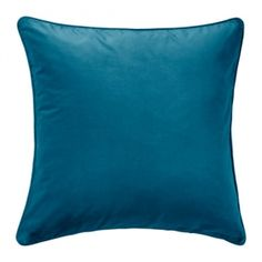 Sofiabrands Blue Cotton 18X18 Inch Cushion Cover ( 2 Pcs Set) (Without Filler)