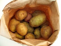 I hadn't realized there was a wrong way.   Helpful article about storing potatoes.
