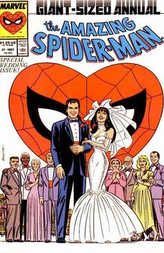 The Amazing Spider-Man Annual #21 - Comic Book Cover