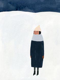 Kate Pugsley Winter Print