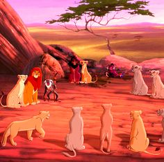 Happy Ending from Lion King 2