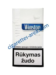 WINSTON Blue SuperSlims cigarettes