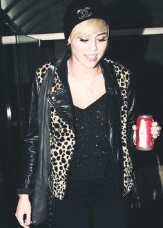 Miley Cyrus Chanel beanie. Cheap alternative custom beanie..