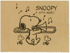 snoopy trombone - Google Search
