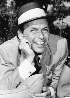 Frank Sinatra. Can't get over that smile.
