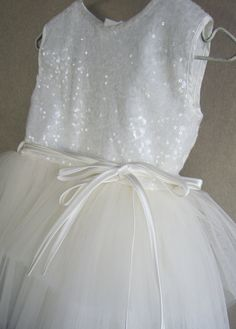 Baby girl Baptism dressPrincess dress tutu by letsdecorateonline