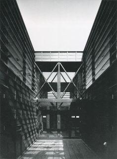 House with a Studio ( For an Ikebana Artist), Tokozozawa, 1995-1996 Hiroshi Nakao