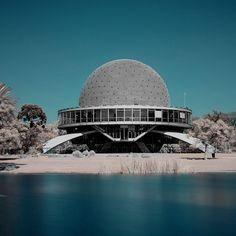 Galileo Galilei Planetarium, Buenos Aires, 1962. Architect: Enrique Jan