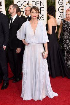 Pin for Later: Seht alle Stars auf dem roten Teppich bei den Golden Globes! Amanda Peet