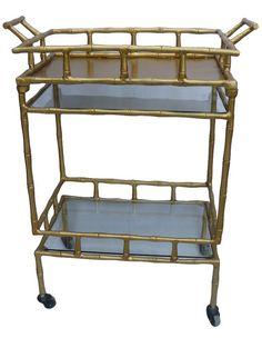 Paige's Picks: The Modern Vintage Bar Cart — The Vintage Round Top