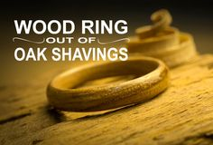 In this video I will show how to make a wooden ring out of shavings and CA glue. In this case I will use European oak, which by their grain size makes their ...