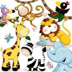 Animalitos Selva Tiernos Dibujos Imagenes Mil Animales Pelautscom