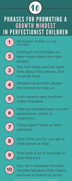Have a perfectionist children? Trying to validate their fears and frustrations can be challenging. Try these phrases to promote a growth mindset for your little perfectionist! Gentle Parenting, Kids And Parenting, Parenting Hacks, Parenting Classes, Parenting Styles, Parenting Goals, Mindful Parenting, Peaceful Parenting, Parenting Quotes