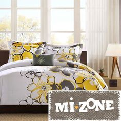 MiZone Allison Full/Queen 4-piece Comforter Set #MiZone #Traditional #beautiful