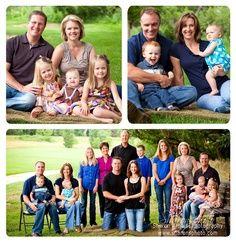 big family portrait poses - Google Search
