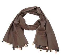 Mia Zia Tassel Scarf #trends #fashion #accessories