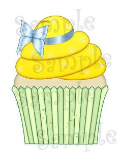 DIGITAL Cupcake Tinkerbell inspired printable personalizeable personalizable file DIY on Etsy, $3.00
