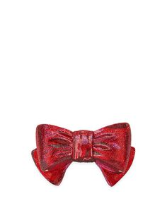 It's all about bows this season. Finish your look with this Crystal Bow Clutch Bag by Judith Leiber Couture.