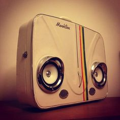 Dub Herbie suitcase boombox ..work in progress