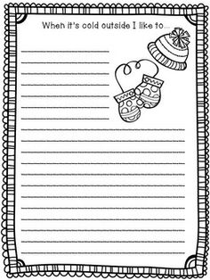 Printables 2nd Grade Writing Prompts Worksheets handwriting worksheets places and google on pinterest 23 winter writing prompts for 3rd 5th graders includes general christmas