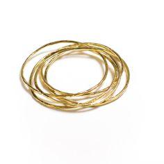 christina jervey jewelry bracelet handmade jewelrydesign bangels simple gold