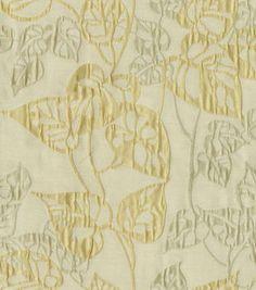 Upholstery Fabric-Waverly Leaf Link/Shimmer