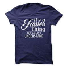 It's A James Thing, You Wouldn't Understand