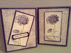 Stampin'Up!, Field flowers, just believe, elegant eggplant & wisteria wonder, all occasions  www.midmostamping.com