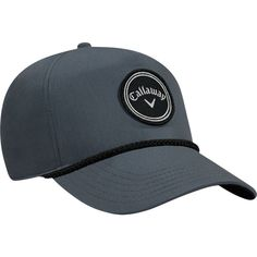 Callaway Men's Rope Golf Hat, Grey