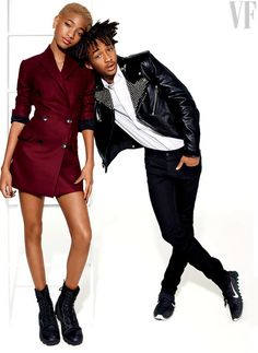 Snapshot: Willow and Jaden Smith by Miguel Reveriego for Vanity Fair July 2014 - The Fashion Bomb Blog : Celebrity Fashion, Fashion News, Wh...