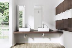 Ceramic Bathroom Counter Top Rectangular Deep Fill Wash Basin Bowl Sink 105A: Amazon.co.uk: Kitchen & Home