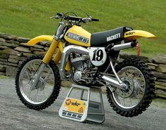 1978 Hackett Yamaha YZ400