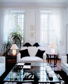 Home ideas, black and white