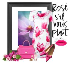 Rose, s'il vous plait ... by fantasy-rose on Polyvore featuring polyvore, fashion, style, Armani Jeans, Kate Spade, Dolce&Gabbana, Elie Saab, Yves Saint Laurent, WALL and clothing