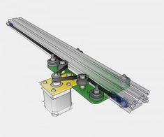 MakerSlide Camera Slider, mechanical kit - Amber Spyglass Ltd Routeur Cnc, Arduino Cnc, Diy Cnc Router, Cnc Plasma, Diy Laser Cutter, Cnc Maschine, 5 Axis Cnc, Camera Slider, Cad Cam